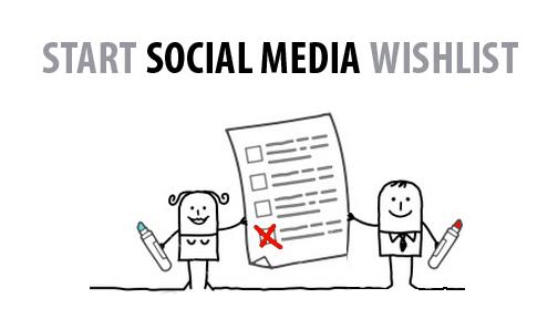 Start Social Media Check List