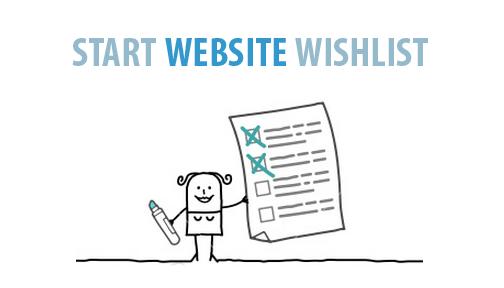 Start Website Check List
