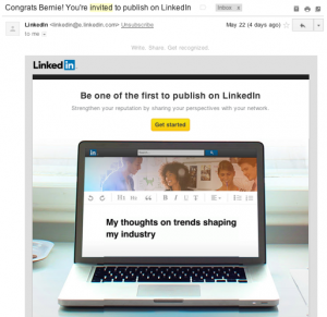 LinkedIn Publisher
